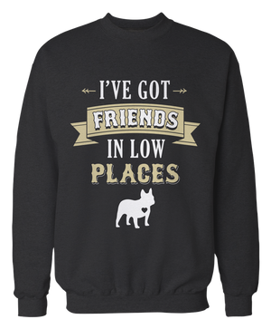 I've Got Friends in Low Places - Country French Bulldog