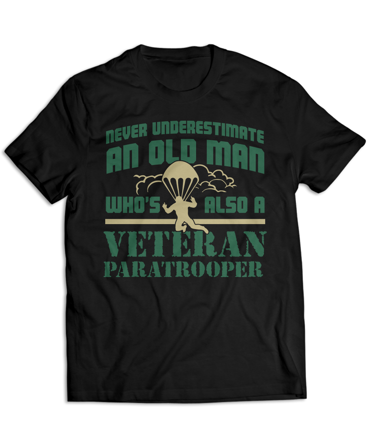 Never Underestimate An Old Man Who's Also A Veteran Paratrooper