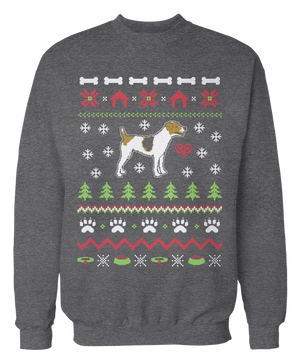 Jack Russell Terrier Ugly Christmas Sweater - Holidays