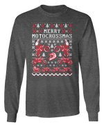 Merry MotoChristmas - Motorcycle - Ugly Christmas Sweater - Holidays