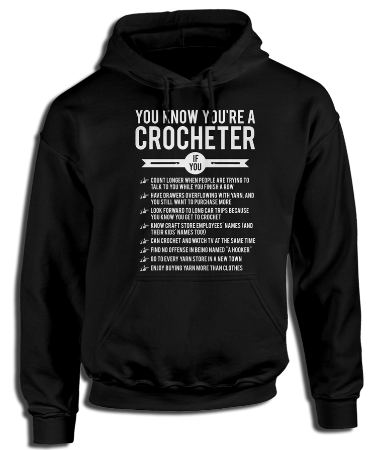 You Know You're A Crocheter If You...