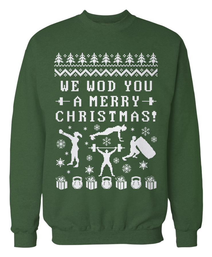 Ugly Crossfit Sweater - Holiday Apparel