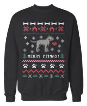 Pitbull - Merry Pitmas - Ugly Christmas Sweater - Holidays