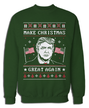 Make Christmas Great Again Ugly Xmas Sweater