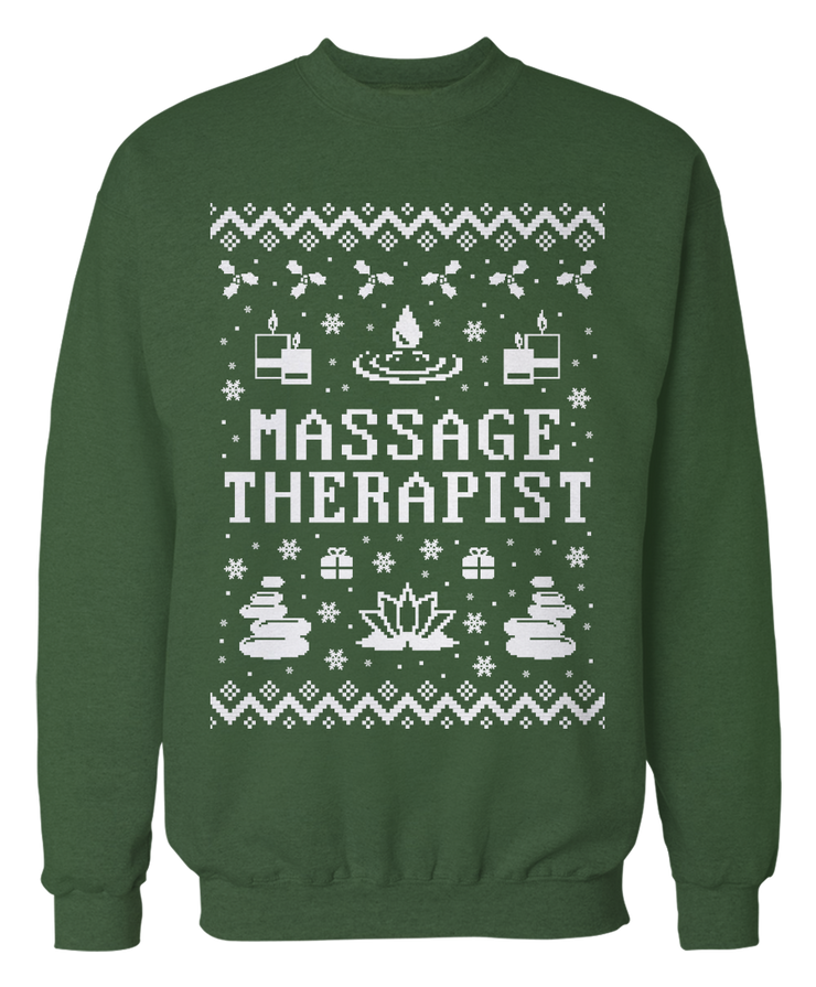 Ugly Massage Therapist Sweater - Holiday Apparel