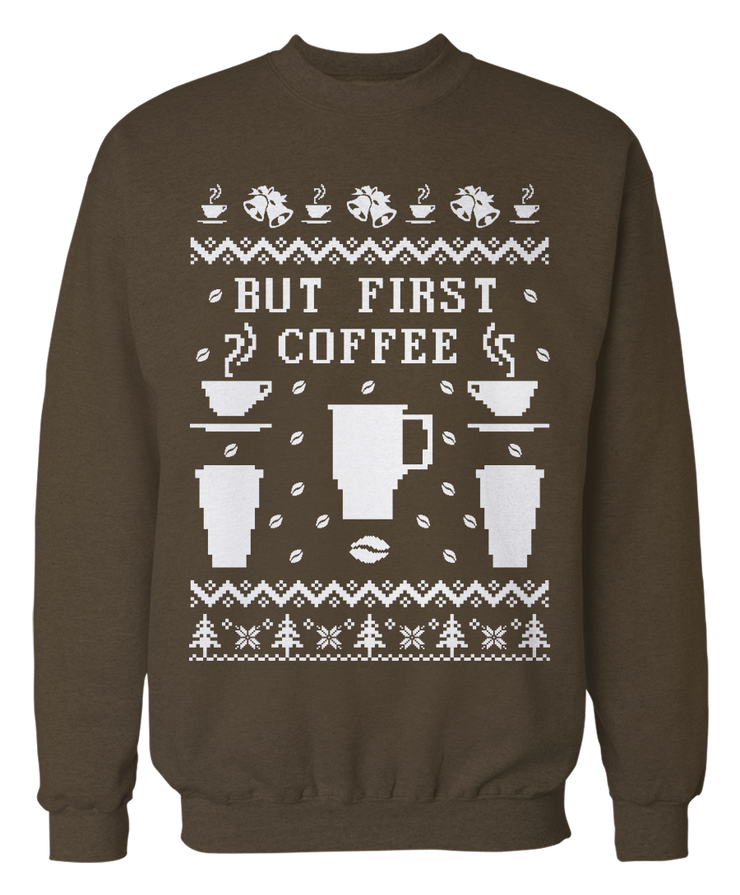 Ugly Coffee Sweater - Holiday Apparel