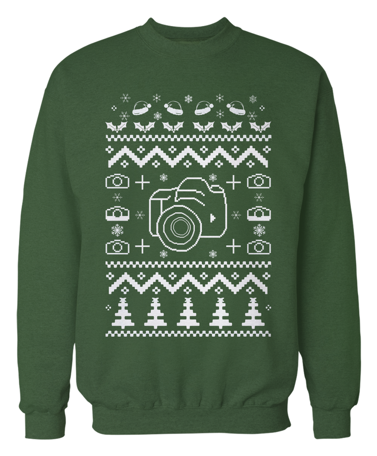 Photography Ugly Christmas Sweater - Holidays