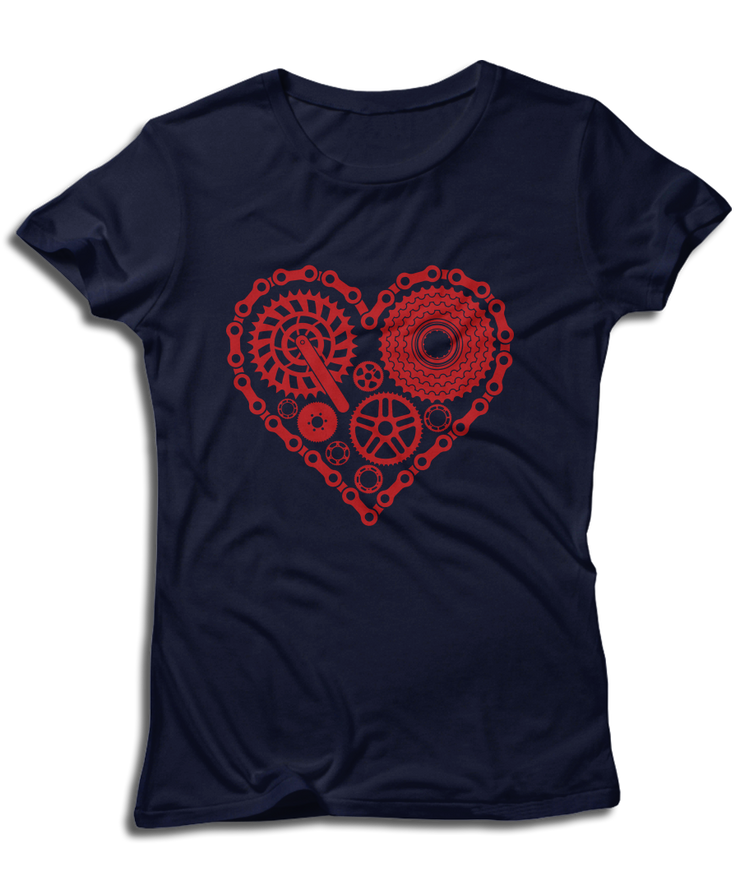 Heart Of Gears - Cycling & Bike Lovers