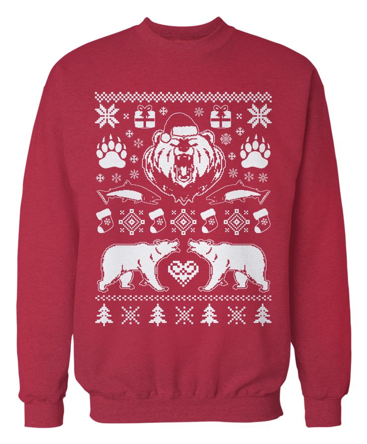 Ugly Bear Sweater - Holiday Apparel