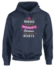 Equestrians & Horse - Horses Leave Hoofprints Forever In Our Hearts