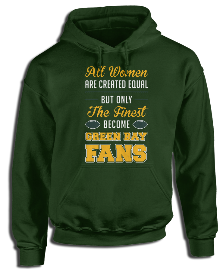 All Women Are Created Equal, But Only The Finest Become Green Bay Fans