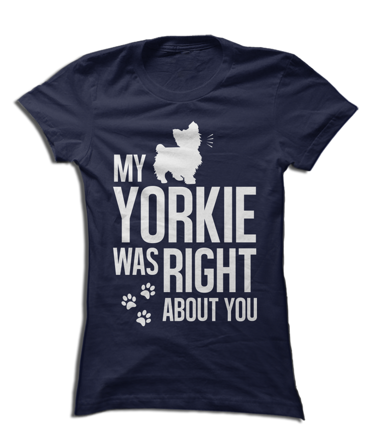 My Yorkie Was Right About You
