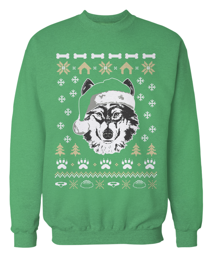 Husky Ugly Christmas Sweater - Holidays