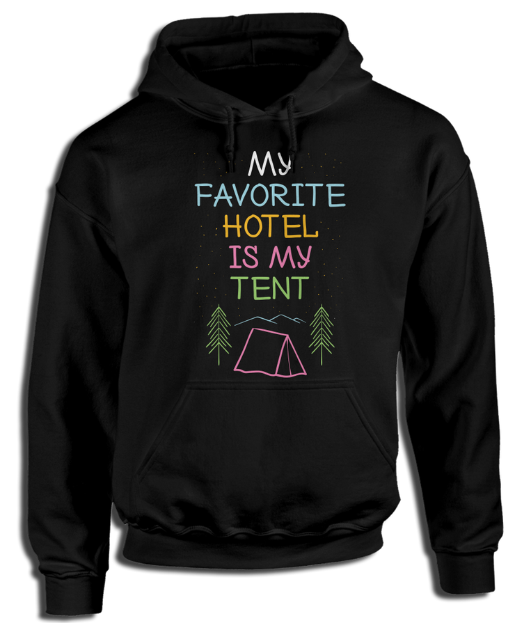 My Favorite Hotel Is My Tent