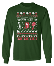 Ugly Makeup Artist Cosmetologist Sweater - Holiday Apparel
