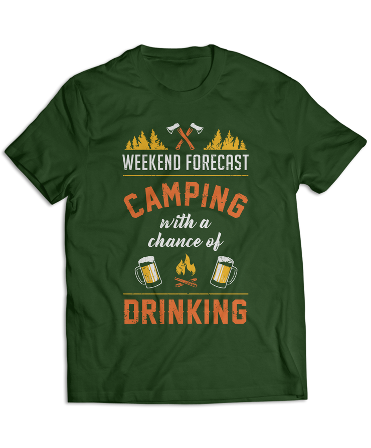 Weekend Forecast: Camping With A Chance Of Drinking