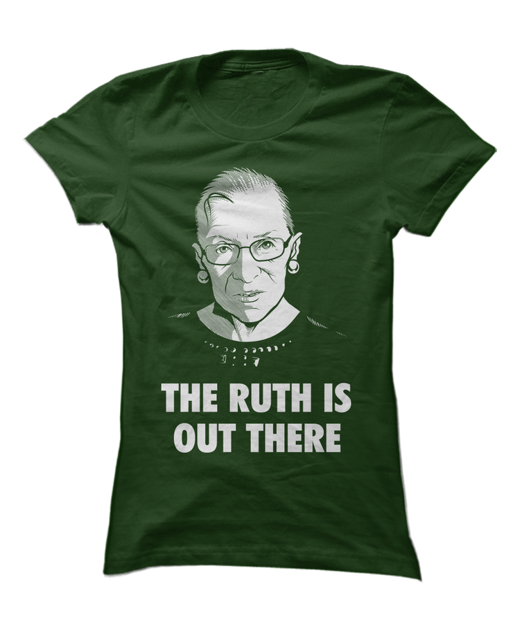 RBG - The Ruth Is Out There - Funny