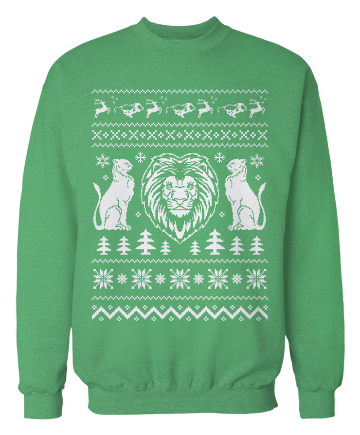 Ugly Lion Sweater - Holiday Apparel