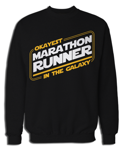 Okayest Marathon Runner In The Galaxy