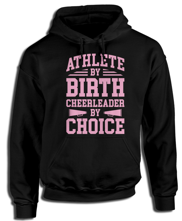 Athlete By Birth, Cheerleader By Choice