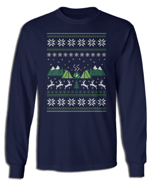 Ugly Camping Sweater