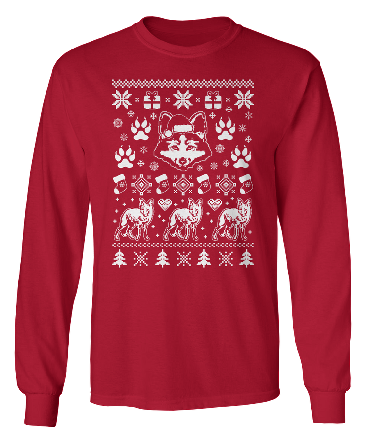 Ugly Fox Sweater - Holiday Apparel