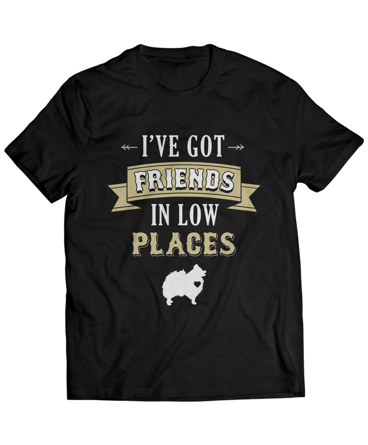 I've Got Friends in Low Places - Country Pomeranian