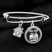 "You Had Me At ""I Need To Sell My House"" Charm Bracelet"