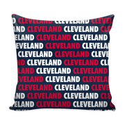 Cleveland Baseball Throw Pillows