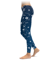 Pisces Zodiac Sign Leggings