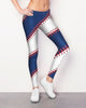 L.A. Baseball Stitch Leggings