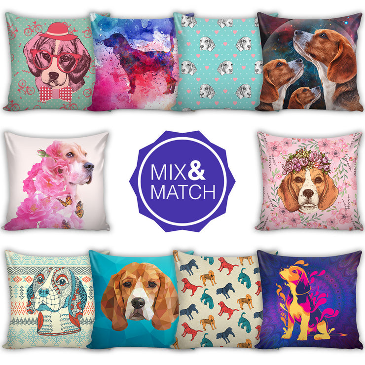 Beagle Throw Pillows