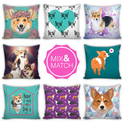 Corgi Throw Pillows II