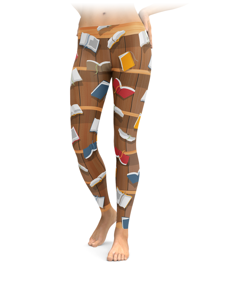Flying Book Leggings