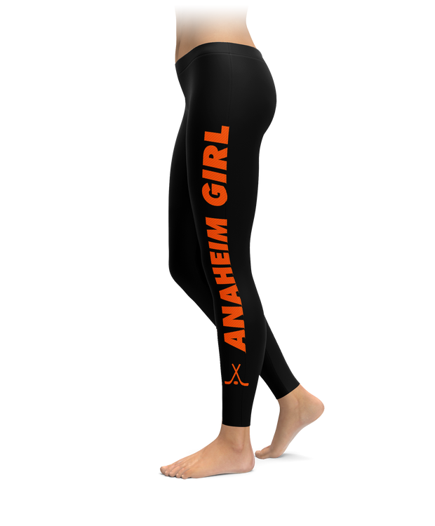 Anaheim Girl Hockey Leggings