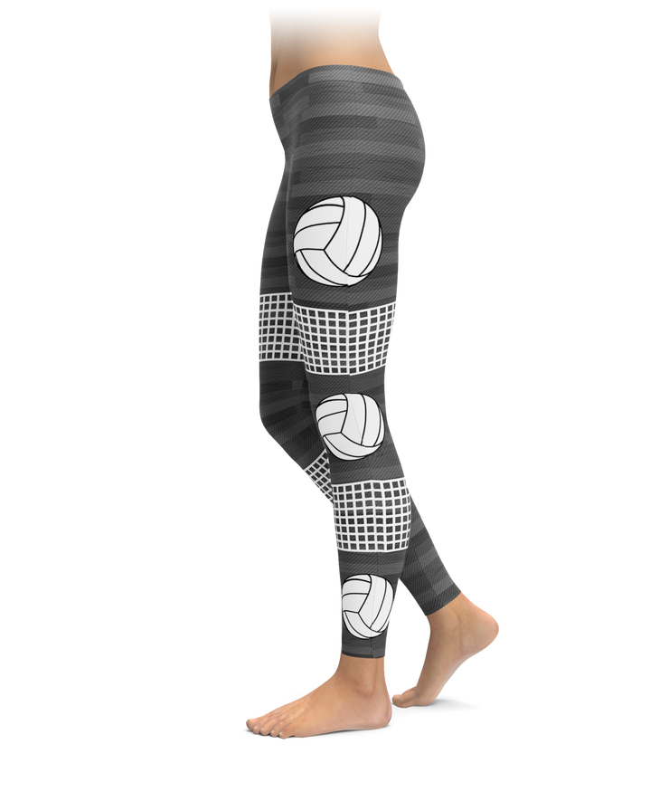 Nets, Volleyballs, & Hardwood Leggings