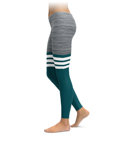 Philadelphia Football Thigh High Leggings