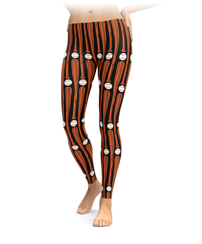 San Francisco Baseball Bat Leggings