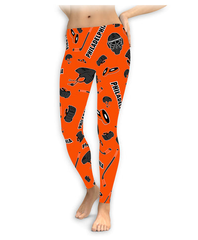 Philadelphia Hockey Icons Leggings