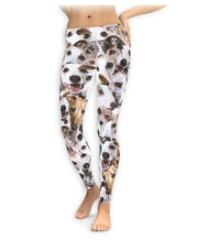 Dog Whippets On Dog Whippets On Dog Whippets Leggings