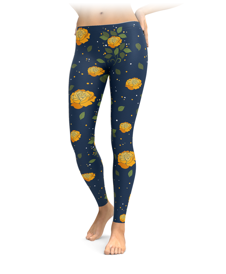 Belle's Rose Leggings