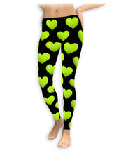 Heart Tennis Ball Leggings