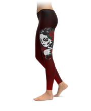 Lady Of The Dead Leggings