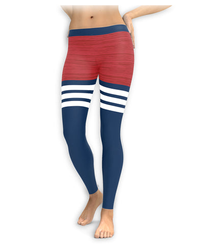 Boston Baseball Thigh High Leggings