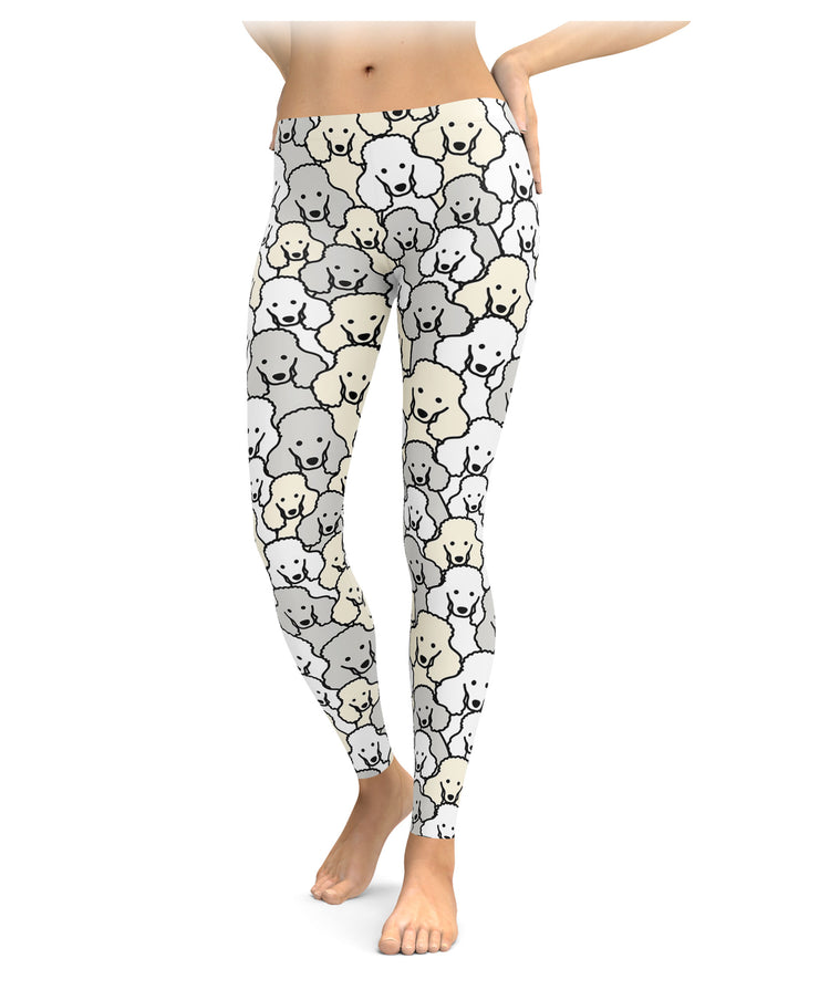 Lots & Lots Of Poodles Leggings