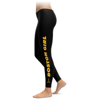 Boston Girl Hockey Leggings