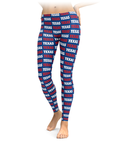 Texas Style - Red, White & Blue Leggings