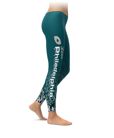 Love Philadelphia Football Leggings