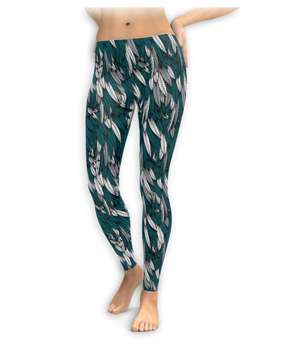 Philadelphia Football Feather Leggings
