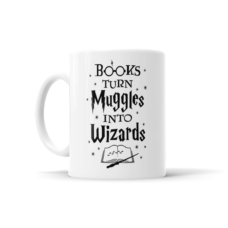 Books Turn Muggles Into Wizards